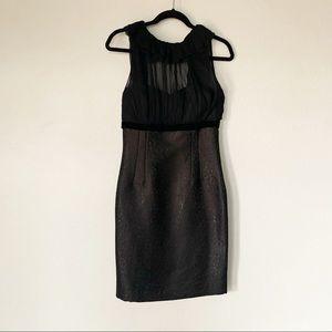 EUC Antonio Melani Black sheath dress size 6